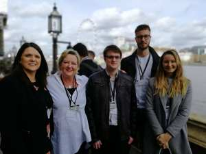 Invotra team at house of commons