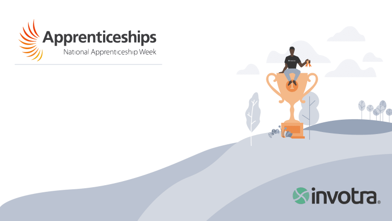 Invotra and National Apprenticeship Week logos