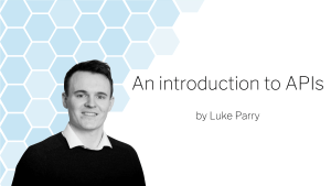 An introduction to APIs blog banner