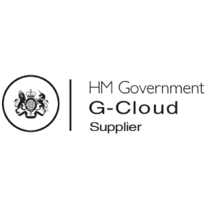 H M Government G-Cloud Supplier logo