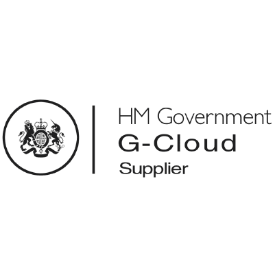 HM Government G-cloud supplier graphic