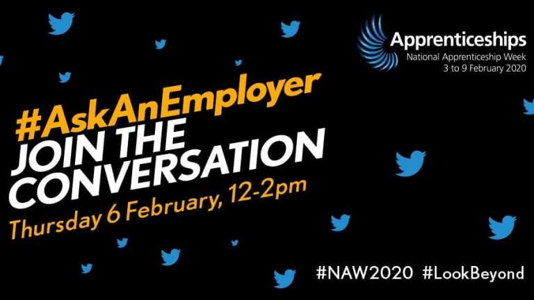 NAW 2020 Ask an employer logo