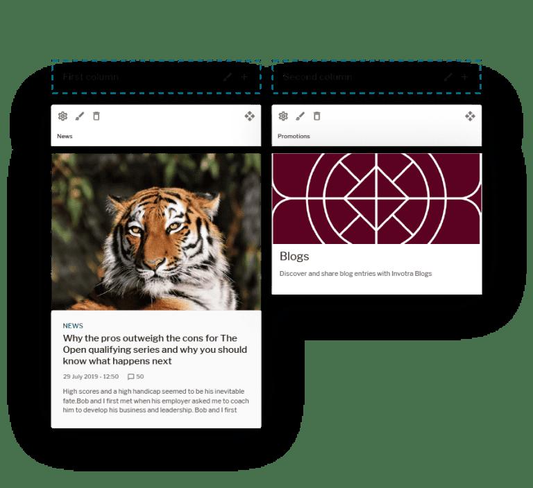 Intranet design - Templates