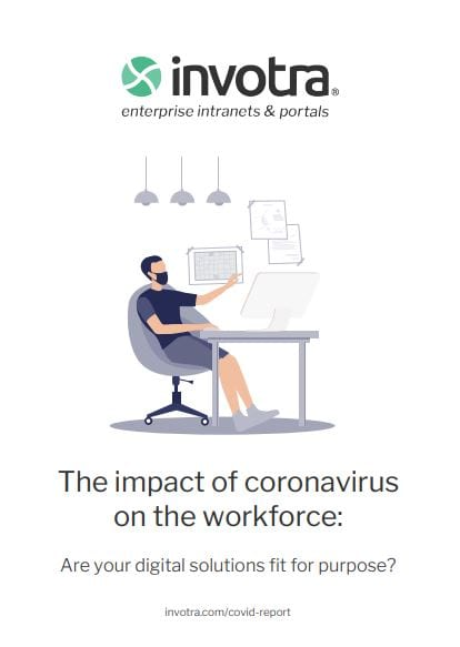 The impact of coronavirus on the workforce. Are your solutions fit for purpose report front cover