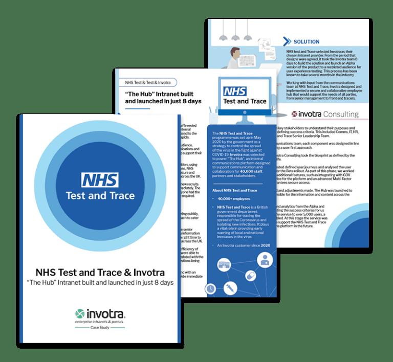 NHS T&T Quick launch Case study pages