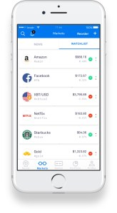 Invstr App Watchlist Markets
