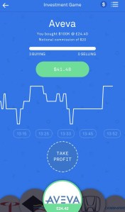 Aveva in Invstr Investment Game