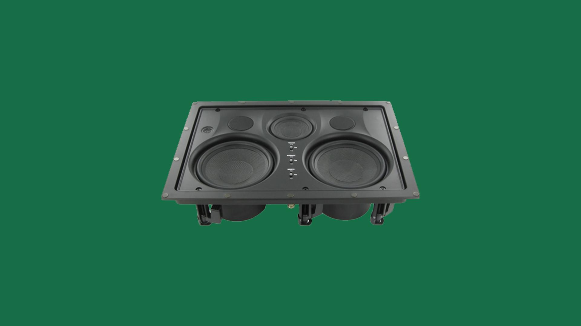 InwallTech Center Channel Speakers HD525 1LCR 2