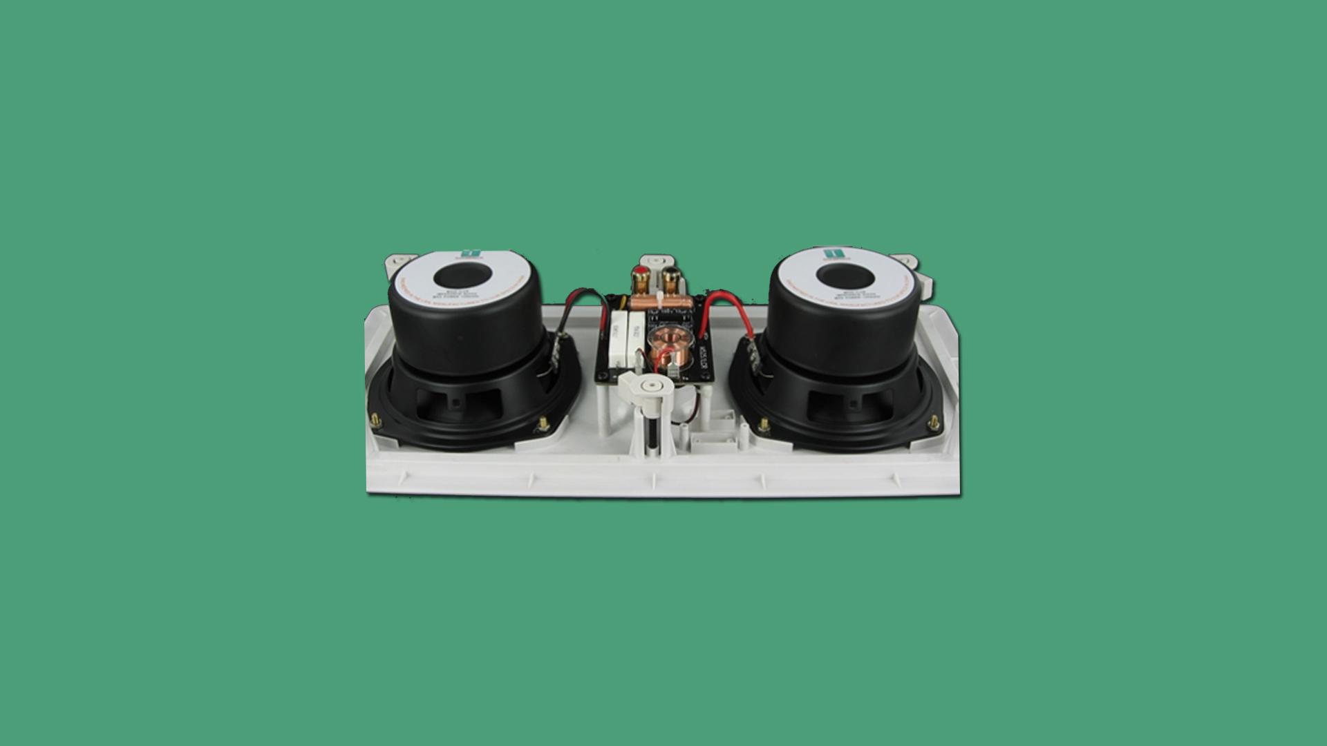 InwallTech Center Channel Speakers M525 1LCR 4