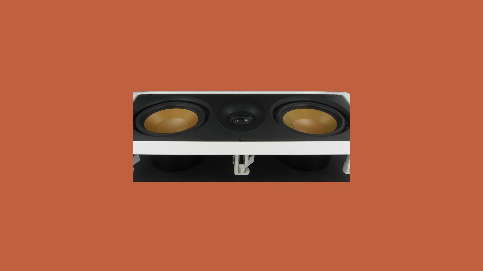 InwallTech Center Channel Speakers M525 1LCR 5