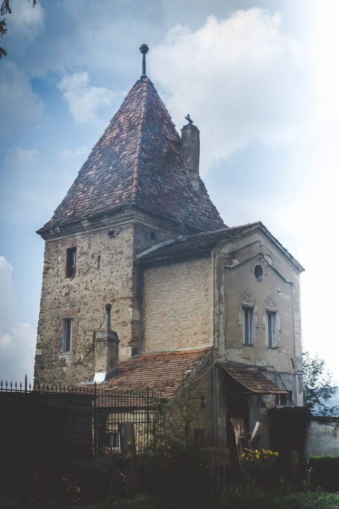 Sighisoara è la città natale di Dracula