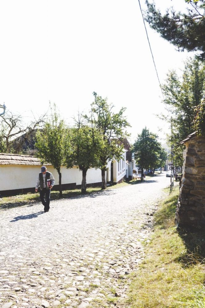 come raggiungere Viscri in Romania