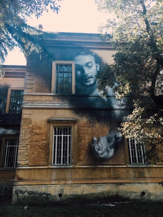 manicomio abbandonato a roma