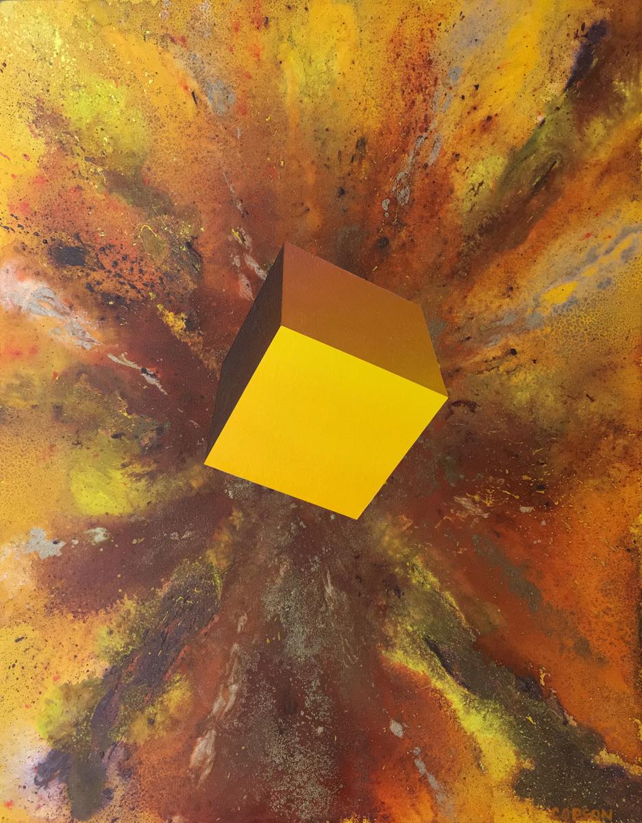 24x30 Mixed Media on Canvas Inyo Studio Inventory #1701
