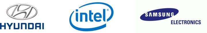 Hyundai, Intel, Samsung logo