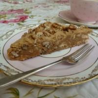 My dream Coffee Walnut Slice perfection