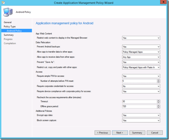 Intune - Manage application