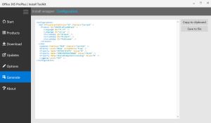 View xml file before deploy