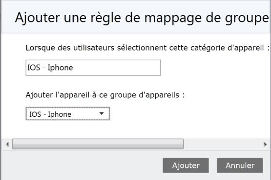 Add mappage rules