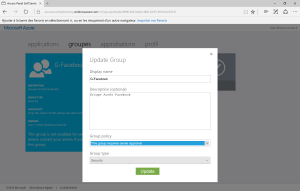Groups Azure AD