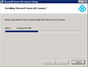 Installing Azure AD Connect