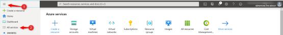 Create storage account Backup Nas Synology on Azure
