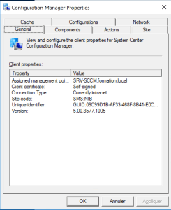 Sccm agent has updated