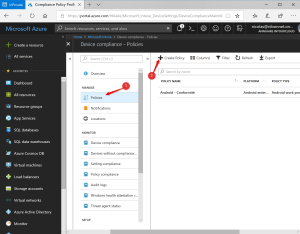 Intune Compliance Policy