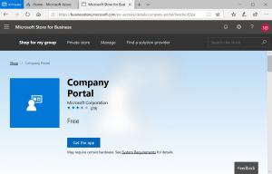 Company portal apps