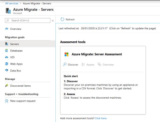 Azure Migrate- Download OVA