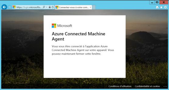 Install Azure Arc agent