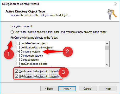 Configure delegation for Autopilot