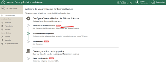 Add Microsoft Azure Connection