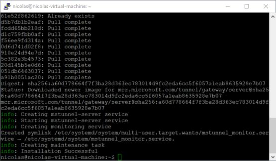 Linux server is now been configured