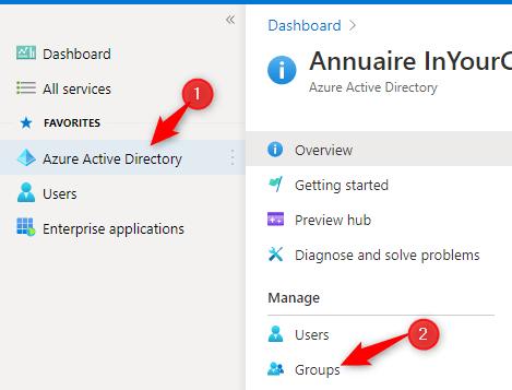 Configure Azure AD Groups