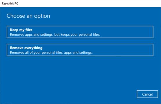 Remove all file