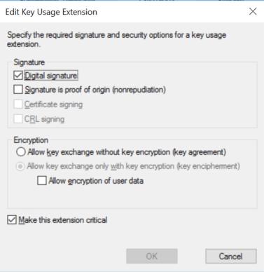 Verify extension