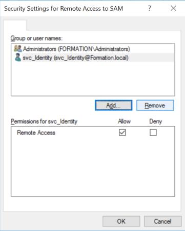 Configure SAMR