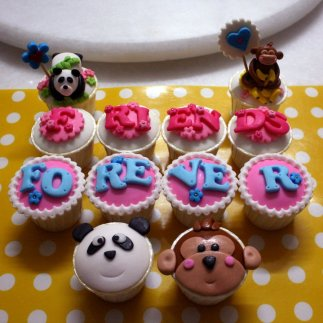 Friendship Cup Cakes
