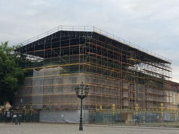 Schloss Charlottenburg Dacharbeiten