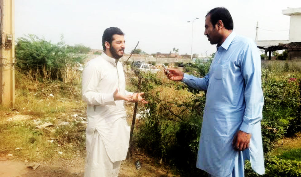 Fawad Dawar from Mirali North Wazirisatn is a student of the Peshawar Agriculture University talk to me about the miseries people faces in their way