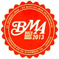 Das Logo des Buchmarktawards mit dem die Frankfurter Filmproduktion InZwischenZeit:Filme ausgezeichnet wurde