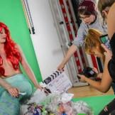 Filmset mit Meerjungfrau