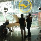 InZwischenZeit:Filme dreht einen Werbefilm für den Flughafen Frankfurt