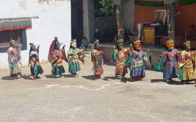 Prisimenant Ladaką. Phyang vienuolynas. Čam šokiai