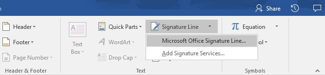 How to Create Professional Reports and Documents in Microsoft Word Signature Line