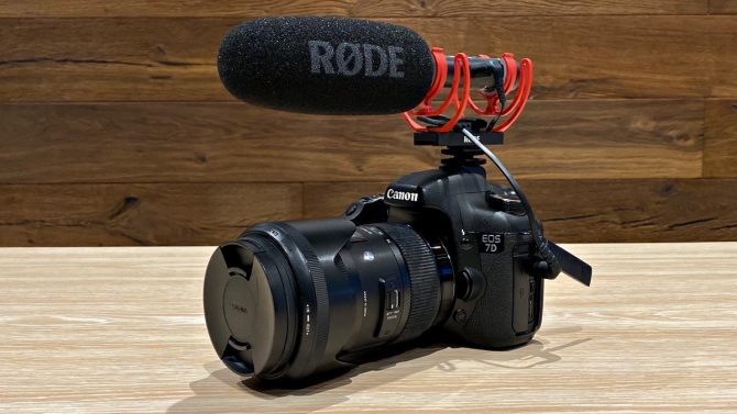 rode videomic ntg review nicholas la présentation