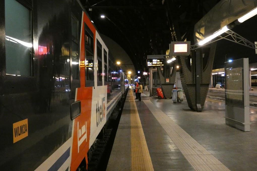 Diario di un'idea -9- Odore di treno