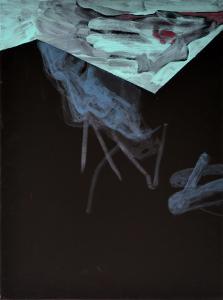 2 - Equilibrium - 2015 - 61 x 46 cm slash 24 x 18 inches - acrylic on canvas