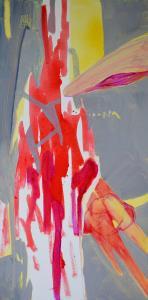 21 - Equilibrium - 2015 - 61 x 30 cm slash 24 x 12 inches - acrylic on canvas